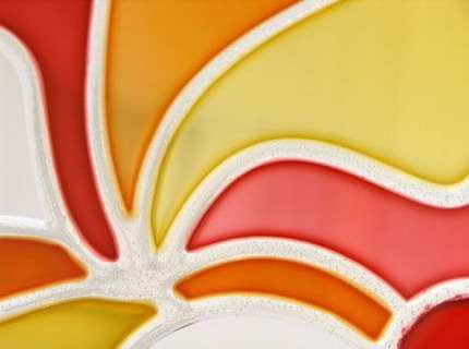 Декорирование стекла – как в два счета создать красоту?