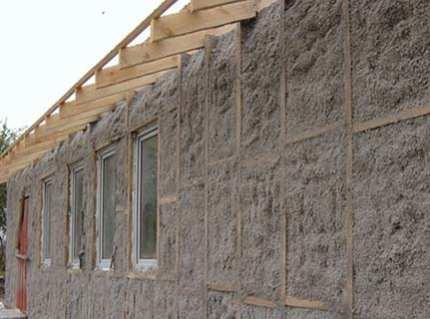 Утепление бревенчатого дома снаружи – как создать вентилируемый фасад или облицовку с помощью камня?