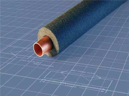 Трубная изоляция из вспененного полиэтилена – зачем трубе шуба?