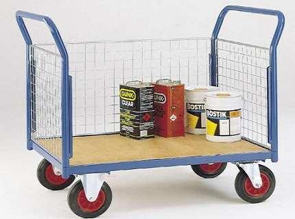 Тележка платформенная – универсальное средство перевозки грузов
