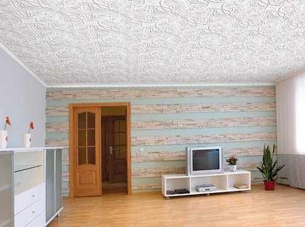 Плитка потолочная без швов как нестандартный вариант отделки