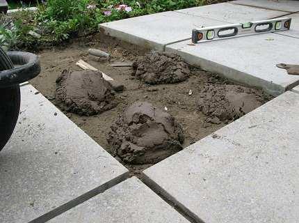 Раствор для тротуарной плитки – контролируем качество дорожек сами