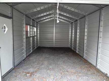 Металлический гараж своими руками – быстрое решение для защиты автомобиля