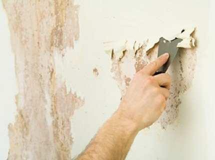 Как снять краску со стены – разбираем изобилие методов