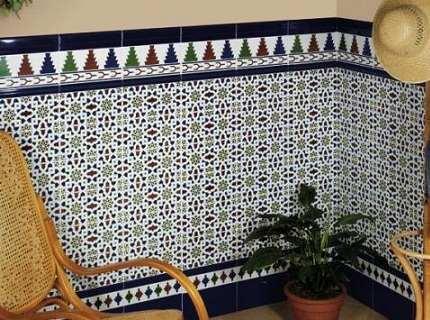 Плитка в восточном стиле – добавим экзотики в свой интерьер