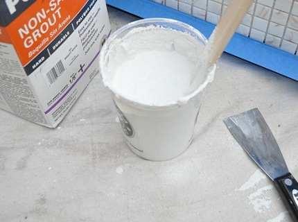 Затирка для плитки: как выбрать качественный материал?
