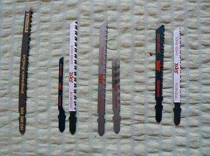 Пилки для ручного лобзика – без них инструмент бесполезен!