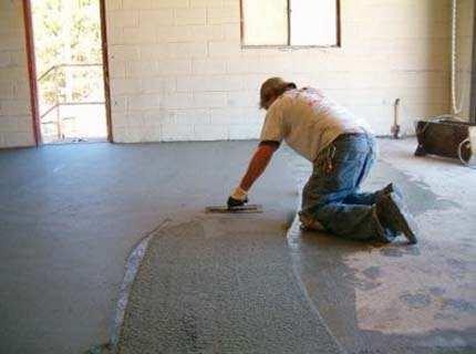 Краска для бетонного пола – забота о монументальном