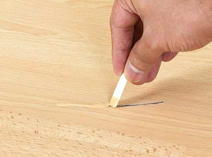 Ремонт ламината – устраняем щели, царапины и потертости