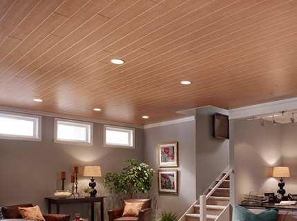 Ламинат на потолок: постигаем все тонкости процесса