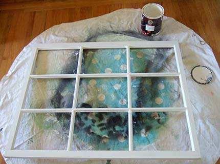 Краска для оконных рам – меняем облик своего окна