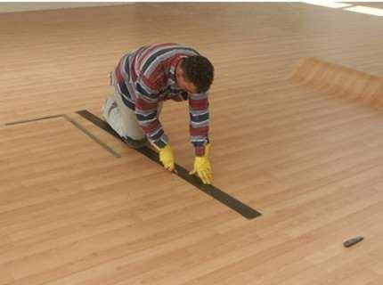 Укладка линолеума на деревянный пол – новый декор для старого покрытия