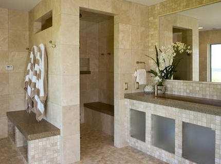Плитка для бани: рекомендации по выбору и укладке