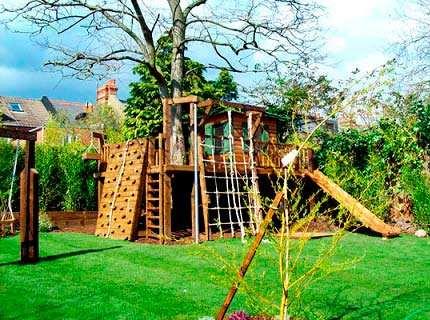 Детские площадки для дачи – воплощаем мечты мальчишек и девчонок