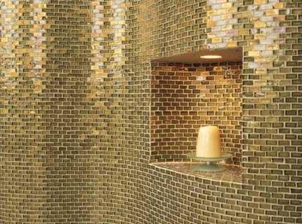 Cтеклянная плитка – делаем красивый интерьер своими руками