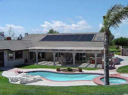 Солнечные батареи для отопления дома – зима не торжествует