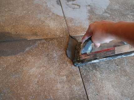 Эпоксидная затирка – надежная оправа для облицовочной плитки