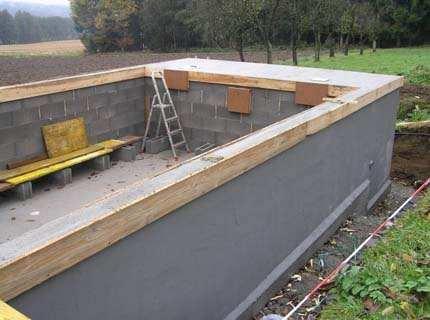 Каким должен быть бетон для бассейна для долговечной его службы?