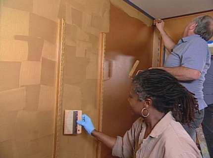 Декоративная краска для стен на службе домашнего уюта