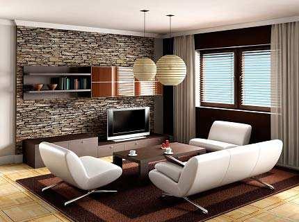 Как самостоятельно придумать дизайн зала в квартире?
