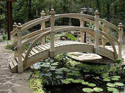 Садовые мостики как олицетворение вечной эстетики и благородства