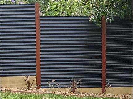 Забор для дачи из профнастила – выбираем и монтируем самостоятельно