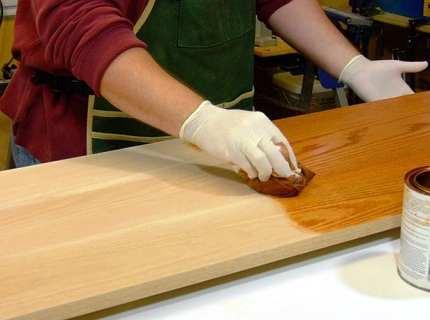Олифа натуральная, или растительные масла в отделочных работах