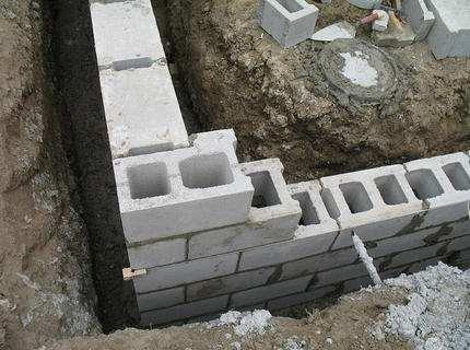 Фундамент из блоков ФБС – для тех, кому надо строить быстро и надежно