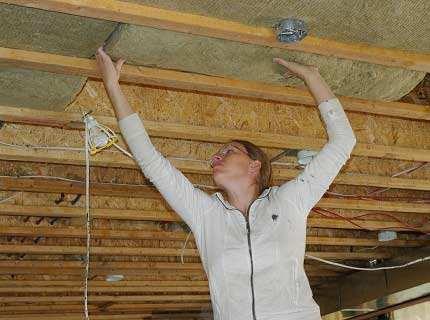 Утепление потолка пенопластом – ищем ему конкурентов
