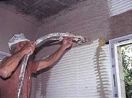 Теплоизоляционная штукатурка как способ сократить расходы на отопление