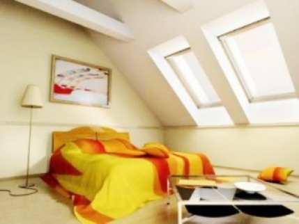 Мансардные комнаты