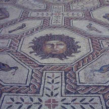 Мозаичные полы своими руками