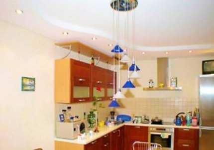 Какой потолок лучше подходит для кухни