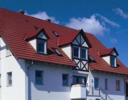 Вариант цементно-песчаного покрытия для крыши