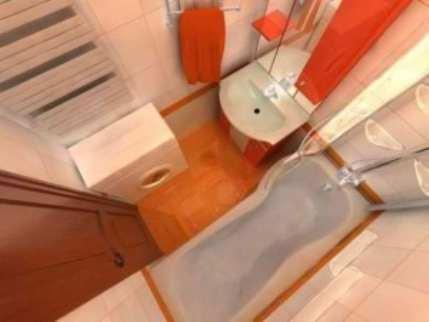 Отделка маленьких ванных комнат
