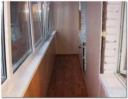 Обшивка балкона своими руками