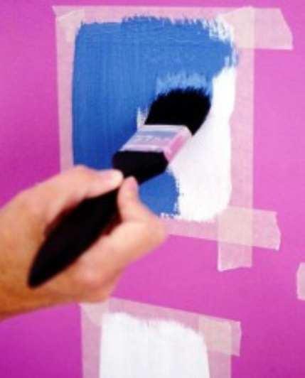 Окраска стен своими руками