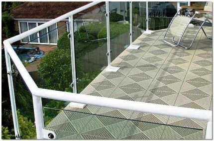 Плитка напольная для балкона