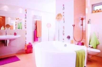 Несколько идей отделки стен в ванной комнате