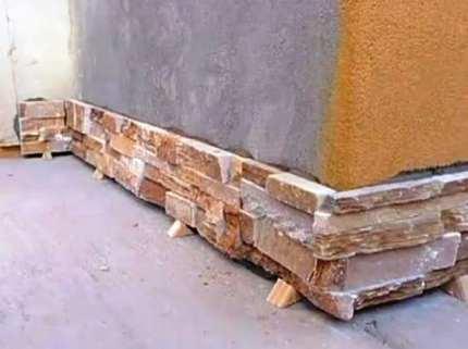 Методы отделки фасадов искусственным камнем