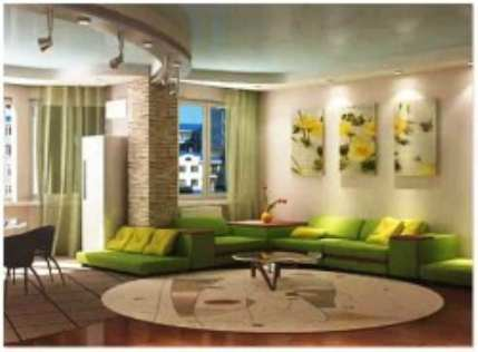 Дизайн интерьера двухкомнатной квартиры своими руками