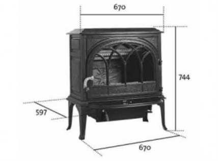 Чем топить частный дом - чугунные печи в отоплении